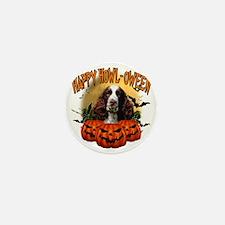 Happy Halloween Springer Spaniel Mini Button