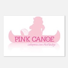 Pink Canoe Postcards (Package of 8)