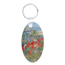 iPhone_Wallet1 Aluminum Oval Keychain