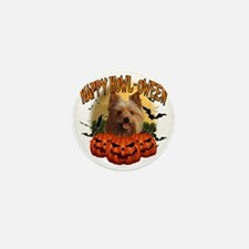Happy Halloween Yorkie Mini Button