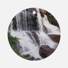 Blackwater Falls Round Ornament
