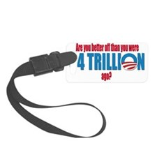 4 trillion Luggage Tag