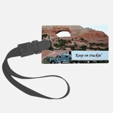 Keep on truckin': truck & arch,  Luggage Tag