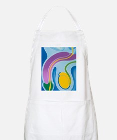 Artwork of male genitalia (penis Apron