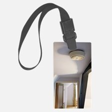 Smoke alarm Luggage Tag