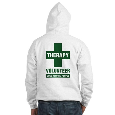 Professional Therapy Volunteer Hooded Sweatshirt