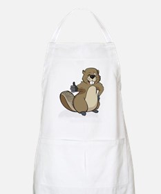 Thumbs up beaver Apron