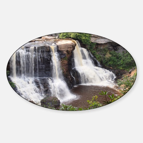Blackwater Falls Sticker (Oval)