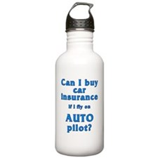 Auto insurance for an  Water Bottle