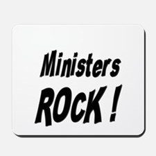 Ministers Rock ! Mousepad