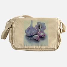 Fresh garlic Messenger Bag