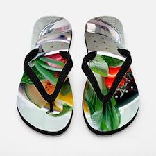 Fruit and vegetables Flip Flops