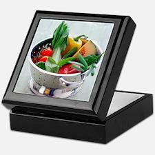 Fruit and vegetables Keepsake Box