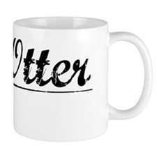 Big Otter, Vintage Small Small Mug