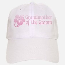 Hibiscus Grandmother of Groom Baseball Baseball Cap
