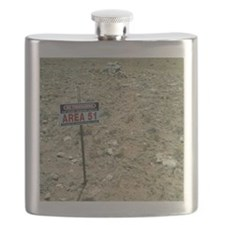 Area 51 UFO site Flask