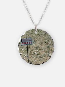 Area 51 UFO site Necklace