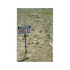 Area 51 UFO site Rectangle Magnet