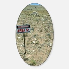 Area 51 UFO site Decal