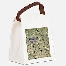 Area 51 UFO site Canvas Lunch Bag