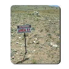 Area 51 UFO site Mousepad