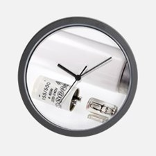 Fluorescent starter Wall Clock