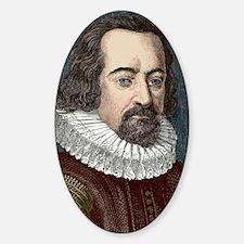 Francis Bacon, English philosopher Decal