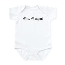 Mrs. Mangini  Infant Bodysuit