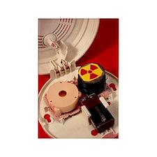 Smoke alarm components Rectangle Magnet