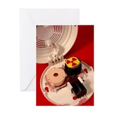 Smoke alarm components Greeting Card
