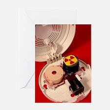 Smoke alarm components Greeting Card