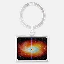 Black hole Landscape Keychain