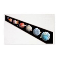 Formation of the Moon 3'x5' Area Rug