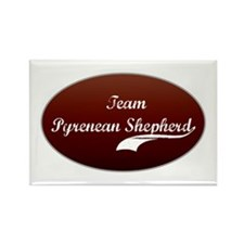 Team Shepherd Rectangle Magnet (100 pack)