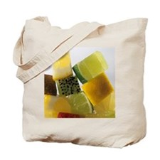 Fruit squares Tote Bag