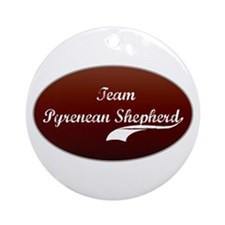 Team Shepherd Ornament (Round)
