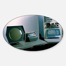 DEC PDP-1 computer Sticker (Oval)