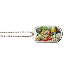 Fruits and vegetables Dog Tags