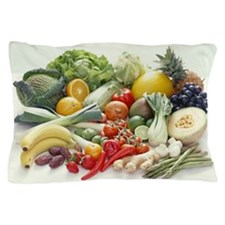 Fruits and vegetables Pillow Case