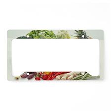 Fruits and vegetables License Plate Holder