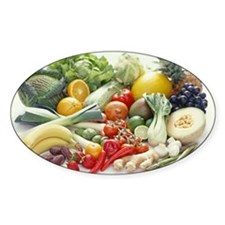 Fruits and vegetables Decal