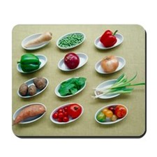 Fruit and vegetables Mousepad
