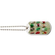 Fruit and vegetables Dog Tags