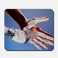 Artificial hand Mousepad