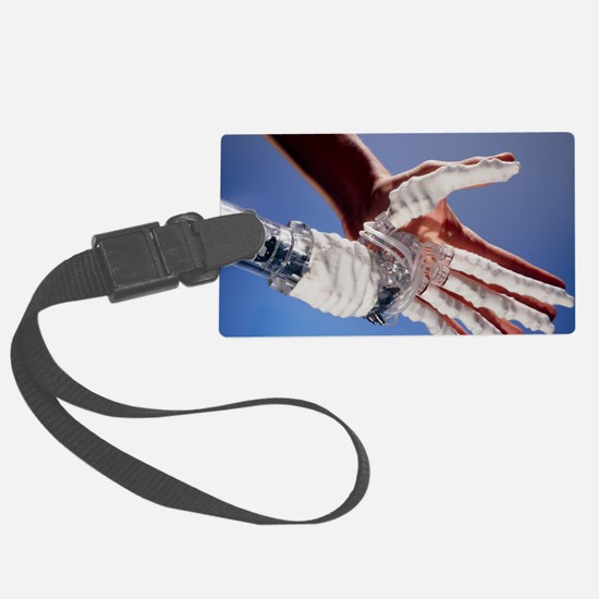 Artificial hand Luggage Tag