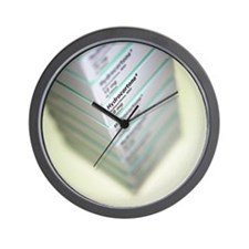 Anti-inflammatory drugs Wall Clock