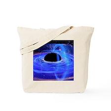 Energy-releasing black hole Tote Bag