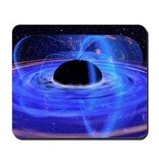 Energy-releasing black hole Mousepad
