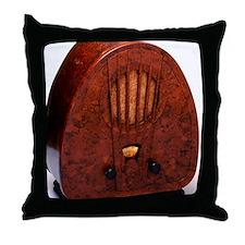 Bakelite radio Throw Pillow