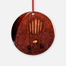 Bakelite radio Round Ornament